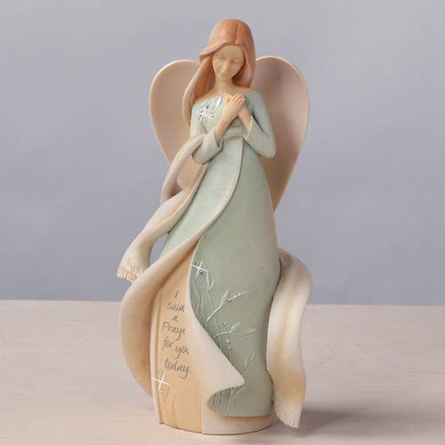 Foundations®  Keepsake Angel-Prayer