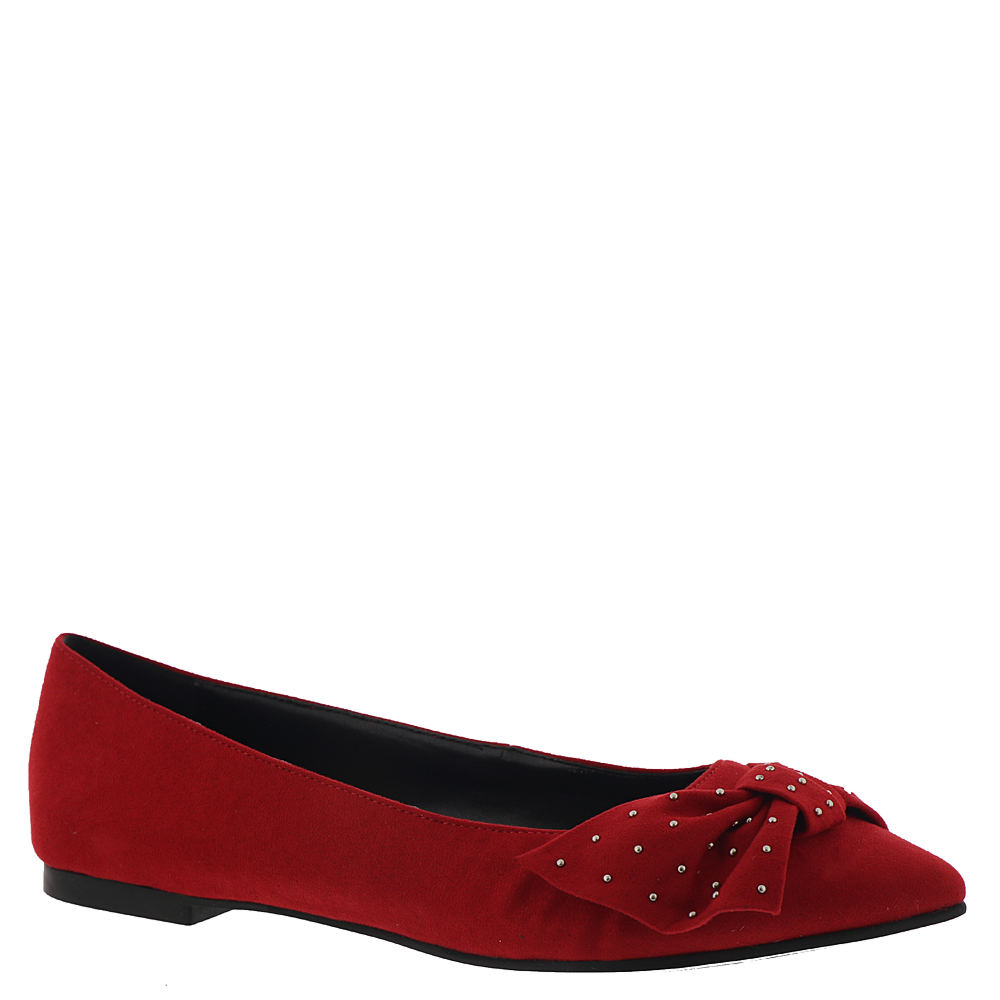 Pin Up Shoes- Heels, Pumps & Flats BCBGeneration Mary Womens Red Slip On 8.5 M $78.95 AT vintagedancer.com