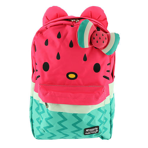 Loungefly Hello Kitty Watermelon Bow Backpack   FREE Shipping at  ShoeMall.com 6cba1aff27