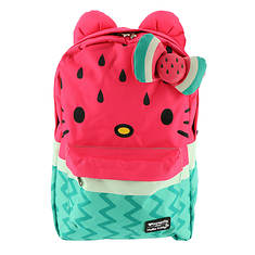Loungefly Hello Kitty Watermelon Bow Backpack