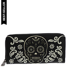 Loungefly Skull Laser Cut Wallet