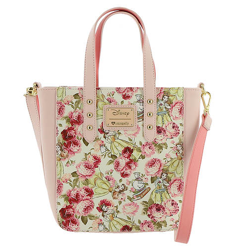 Loungefly Disney Beauty And The Beast Character Tote Bag