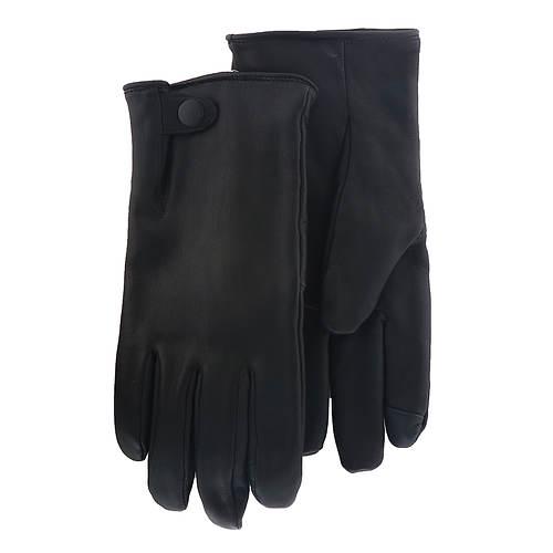 UGG® Men's Tabbed Splice Vent Leather Glove