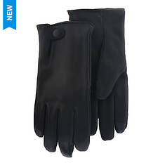 UGG® Men's Tabbed Splice Vent Leather Glove