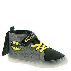 DC Comics Batman Lighted Cnvs High Top BMF720 (Boys' Toddler)