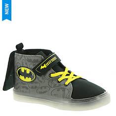 DC Comics Batman Lighted Cnvs High Top BMF720 (Boys' Toddler)