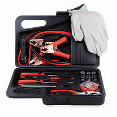 34-Pc. Roadside Tool Kit