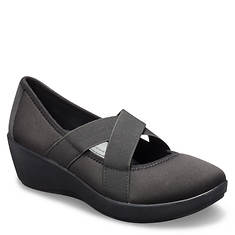 Crocs™ Busy Day Strappy Wedge (Women's)