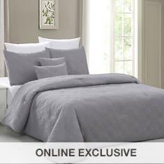 Sanctuary 5-Piece Embossed Comforter Sets