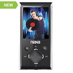 Naxa 8GB MP4 Player with FM Radio