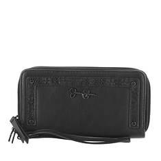 Jessica Simpson Tashani Double Zip Around Wallet