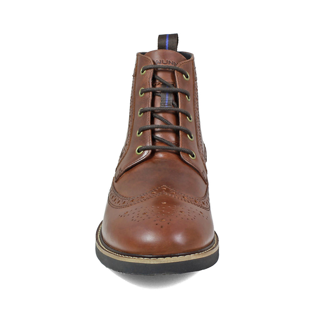 a21c39eb5cc Details about Nunn Bush Odell KORE Wingtip Men's Boot