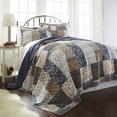 3-Piece Reversible Quilt Set