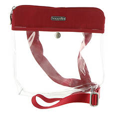 Baggallini Clear Event Compliant Pocket Crossbody Bagg