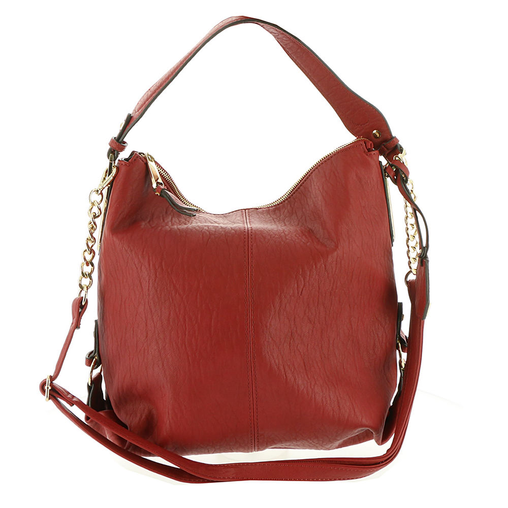 Jessica Simpson Ryanne Hobo Bag Tomato  43af1e0dbb15a