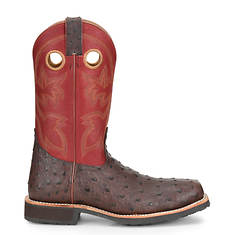 Double H Wide Sq Steel Toe Exotic Roper 12