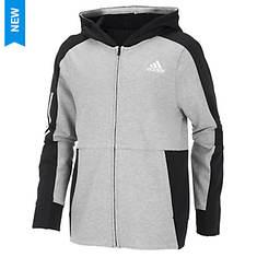 adidas Boys' Transitional Full Zip Jacket
