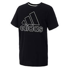 adidas Boys' Performance Logo Tee