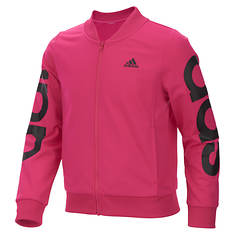 adidas Girls' Cropped Adi Bomber Jacket