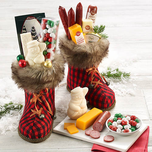 Cozy Boots and Snacks