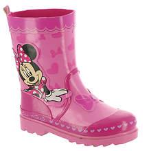 Disney Minnie Mouse Rain Boot CH29352C (Girls' Toddler)