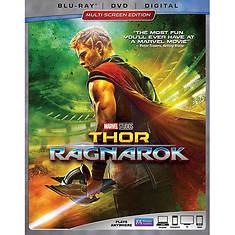 Walt Disney Video Thor:Ragnarok Blue Ray