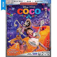 Walt Disney Video CoCo Blue Ray