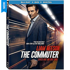 Lions Gate The Commuter Blue Ray