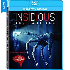 Insidious:The Last Key Blu-Ray