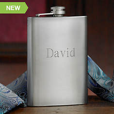 Personalized Executive 8 oz. Stainless Steel Flask