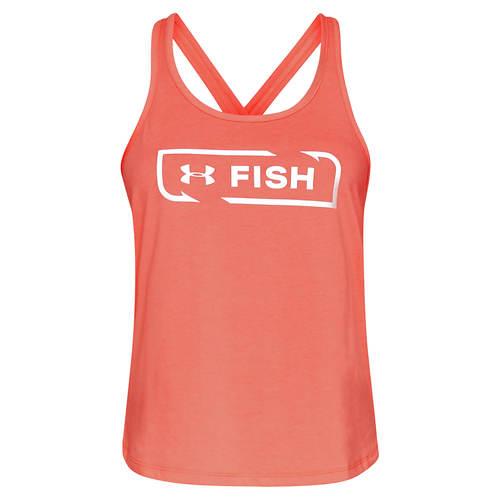 Under Armour Women's Fish Icon Tank