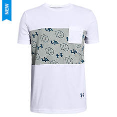 Under Armour Boys' Sportstyle Pocket Tee
