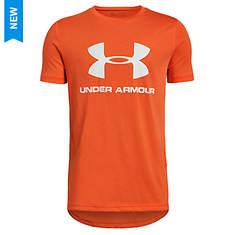 Under Armour Boys' Sportstyle Logo SS Tee