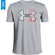 Under Armour Boys' BTH UV Logo Tee