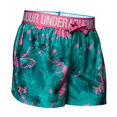 Under Armour Girls' Play Up Printed Short