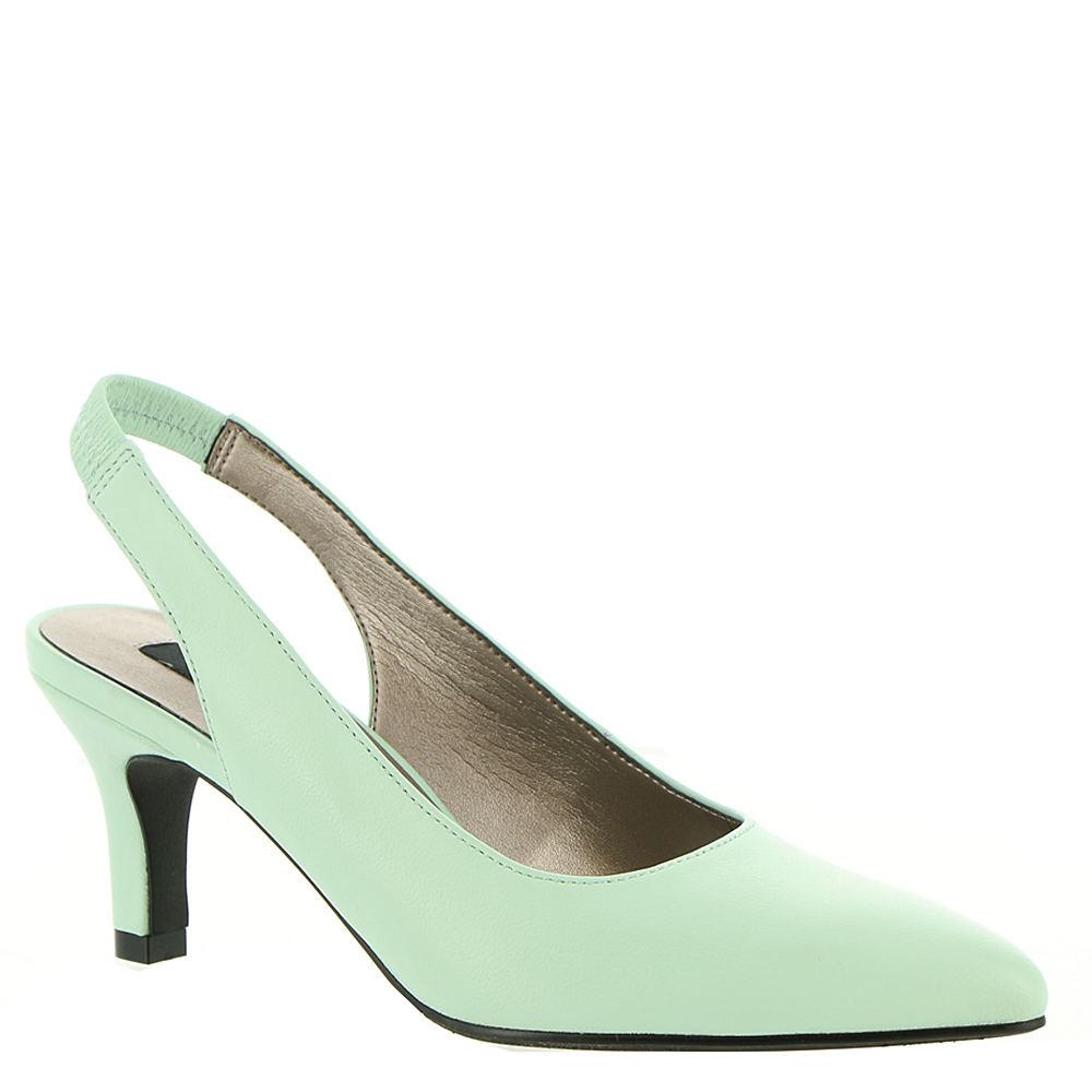 60s Shoes, Go Go Boots   1960s Shoes ARRAY Royal Womens Green Pump 8 W $49.99 AT vintagedancer.com