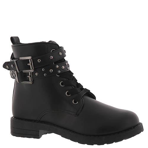 KensieGirl Buckle Combat Boot KG80267M (Girls' Toddler-Youth)