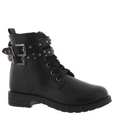 KensieGirl Buckle Combat Boot KG80267M (Girls' Toddler-Youth)