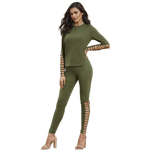 Cutout Legging Set