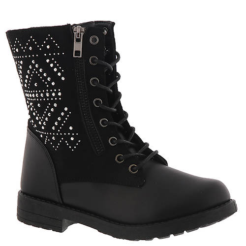 KensieGirl Stud Combat Boot KG80971M (Girls' Toddler-Youth)