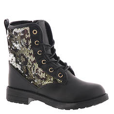KensieGirl Glitter Combat Boot KG80970M (Girls' Toddler-Youth)