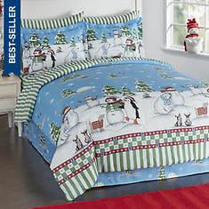 Snow Frolic Bed-In-A-Bag Set