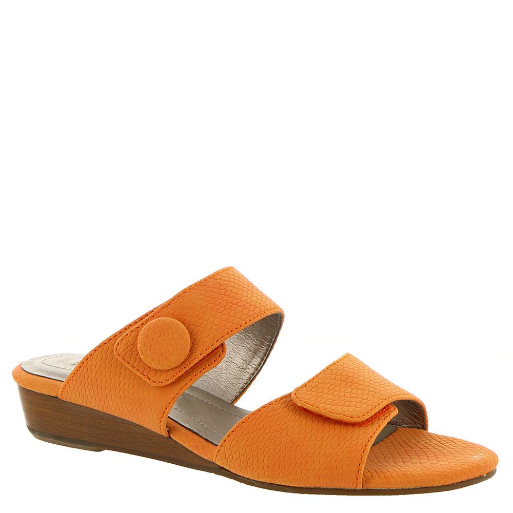 Vintage Sandals | Wedges, Espadrilles – 30s, 40s, 50s, 60s, 70s ARRAY Key West Womens Orange Sandal 12 W $49.99 AT vintagedancer.com