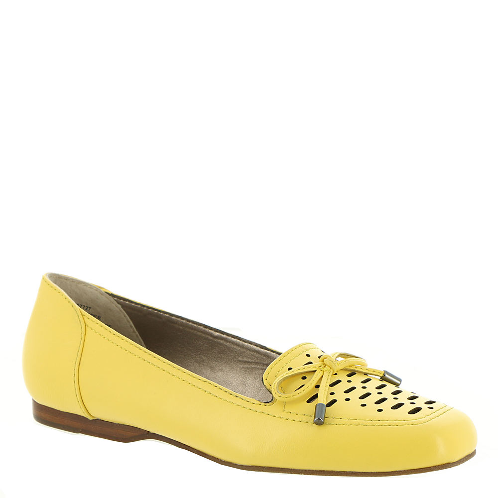 Rockabilly Shoes- Heels, Pumps, Boots, Flats ARRAY Sweet Pea Womens Yellow Slip On 7 S2 $79.95 AT vintagedancer.com