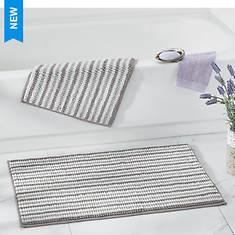 2-Piece Handwoven Bath Rug Set
