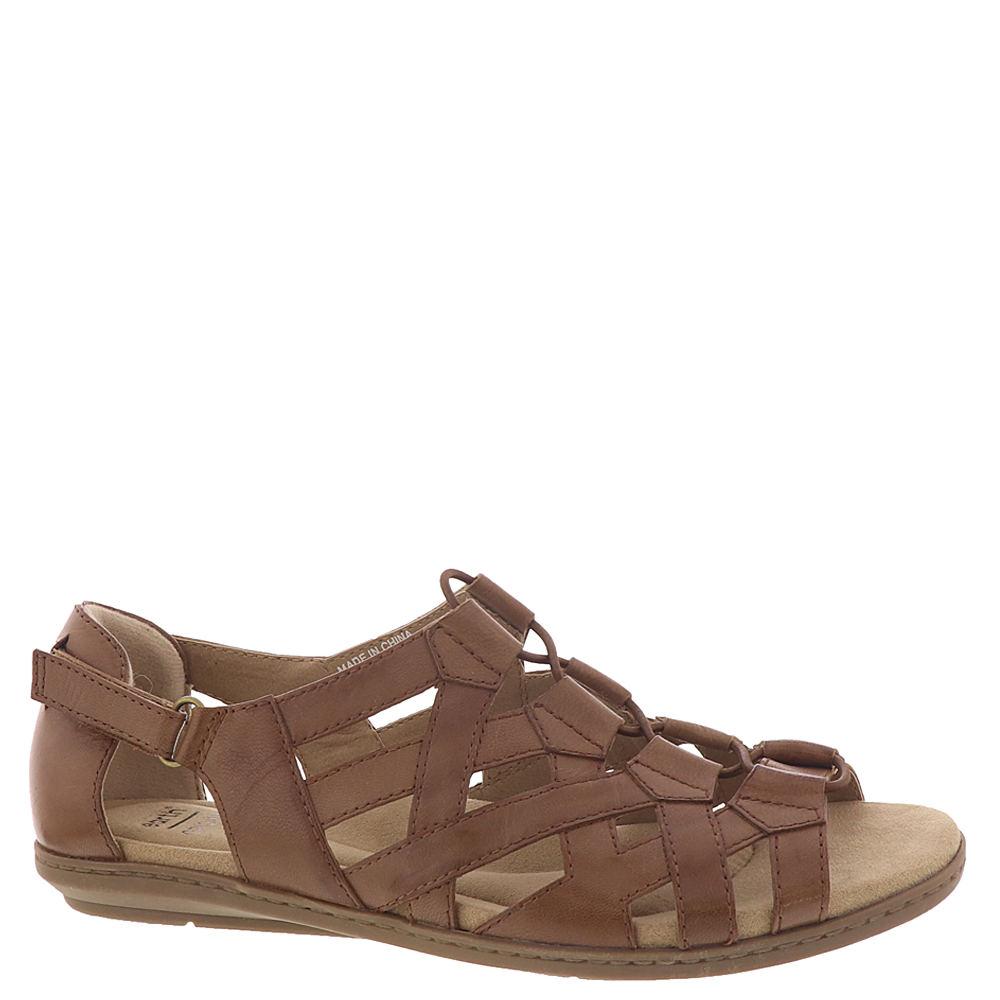 Vintage Sandals | Wedges, Espadrilles – 30s, 40s, 50s, 60s, 70s Earth Origins Bridget Womens Tan Sandal 7 W $59.95 AT vintagedancer.com