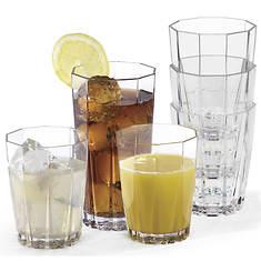 Creative Ware 12-Pc. Acrylic Glassware Set