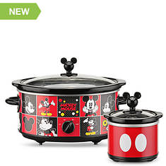 Disney Mickey Mouse Slow Cooker With Mini Dipper