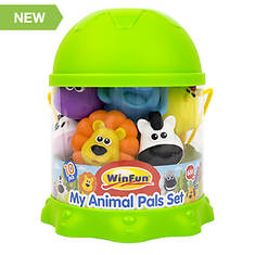 10-Piece My Animals Bath Playset