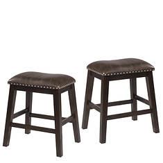 Hillsdale Furniture Set of 2 Spencer Backless Counter Stools